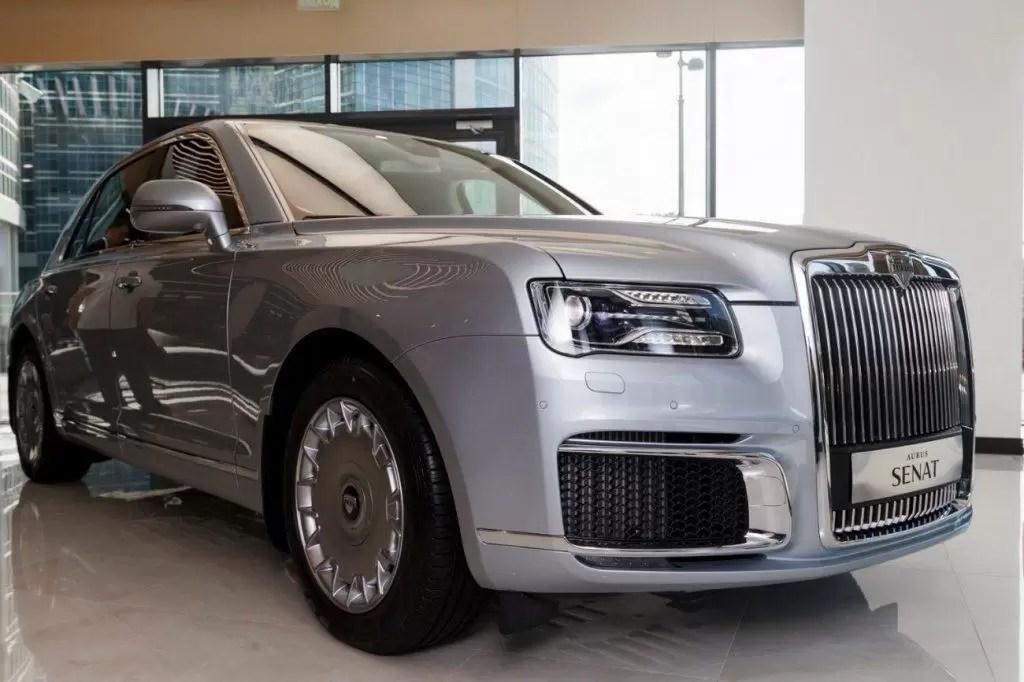 Aurus (la limousine di Putin) apre il primo showroom a Mosca
