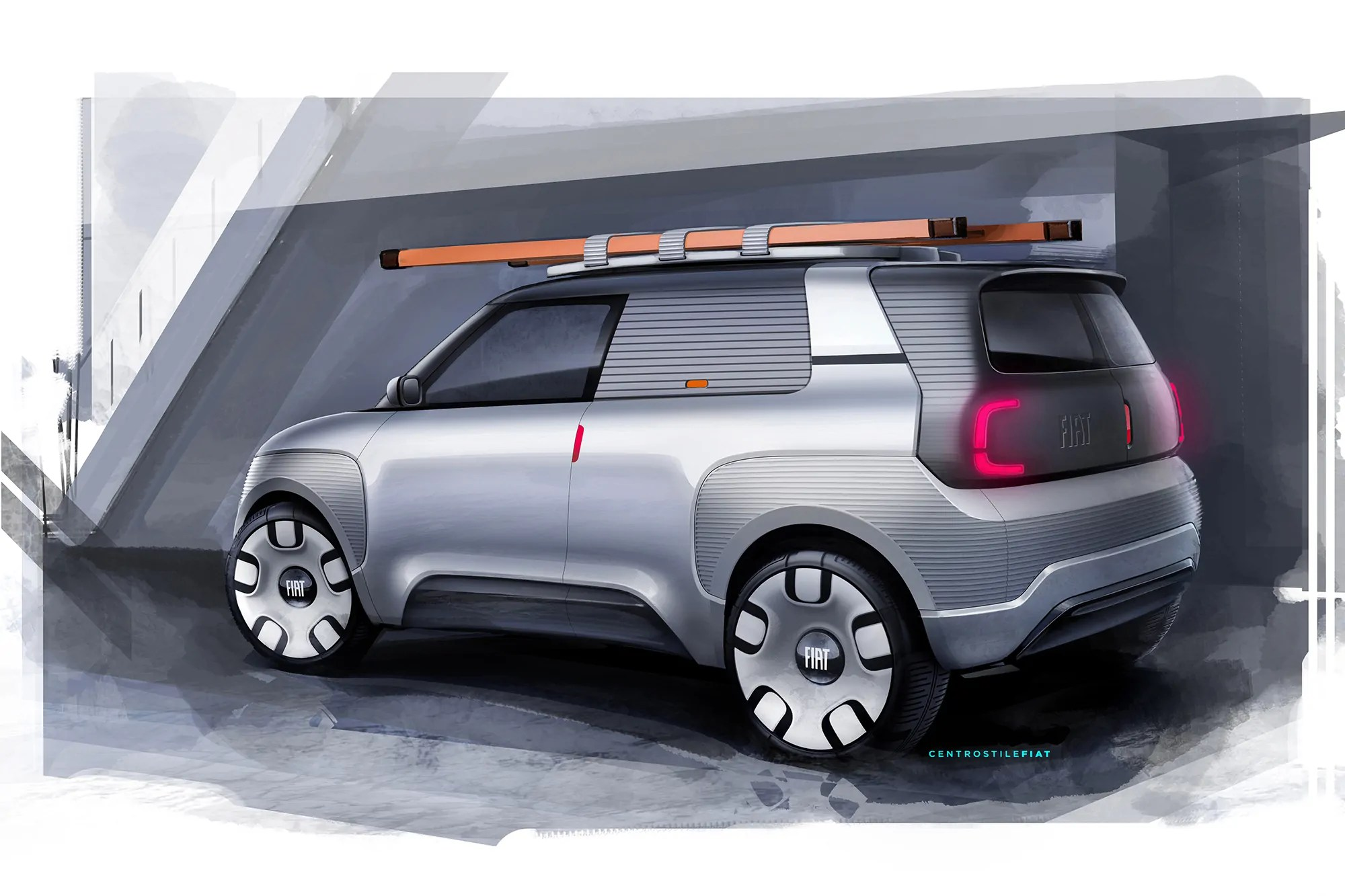 Nuova Fiat Panda 2021 elettrica da 500Km di Autonomia