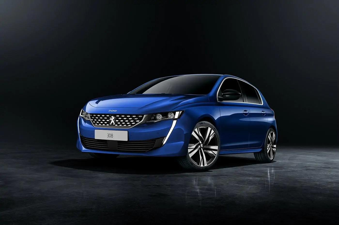 Nuova Peugeot 308 2020, il render definitivo