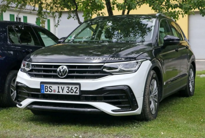 Nuova Volkswagen Tiguan 2021, il Restyling senza veli in Anteprima