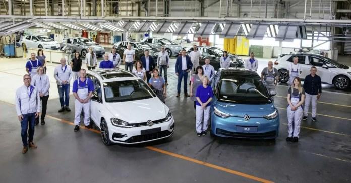 Volkswagen dice addio ai motori termici prodotti a Zwickau