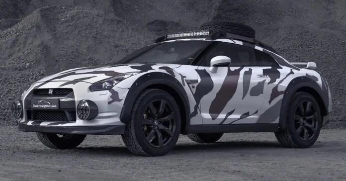 Nissan GT-R 2021, dall'Olanda la versione estrema OffRoad