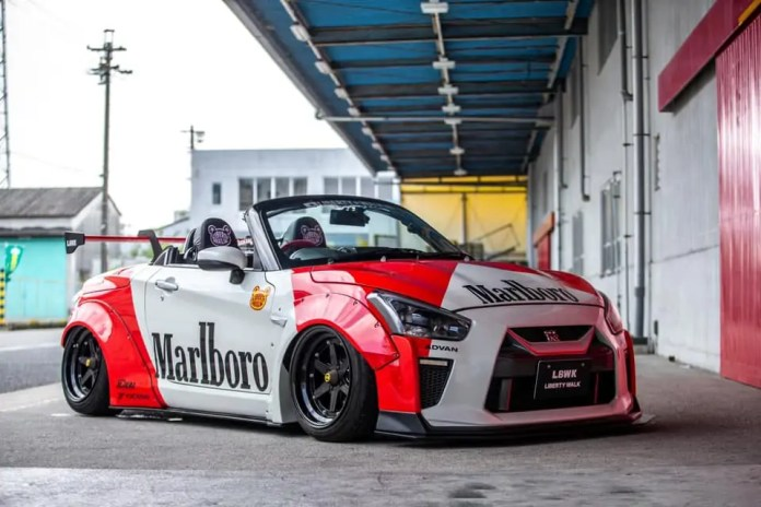 Crea una Nissan GT-R da una Daihatsu Copen, il risultato!