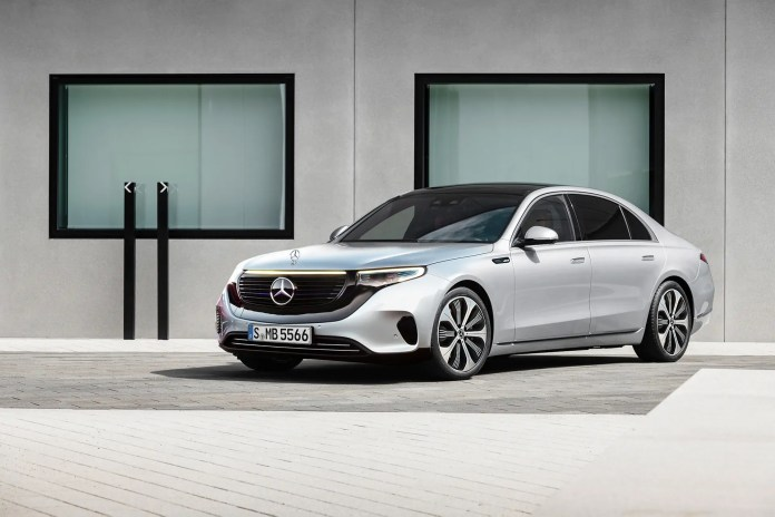 Nuova Mercedes-Benz EQS 2021, il Rendering in Anteprima