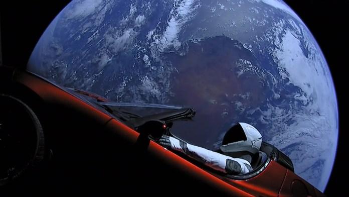 La Tesla Roadster di Elon Musk è quasi arrivata su Marte