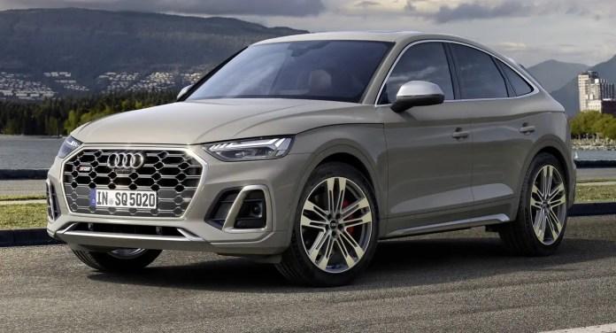 Nuova Audi Q5 ed SQ5 Sportback 2021, Foto, Motori, Uscita