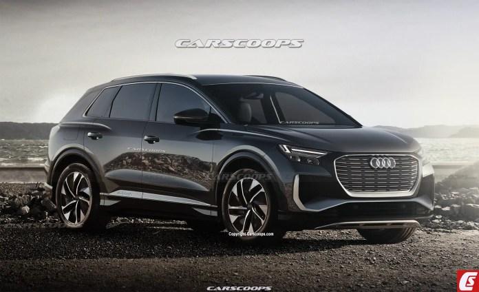 Nuova Audi 4 e-tron 2022, Dati Tecnici e Rendering in Anteprima
