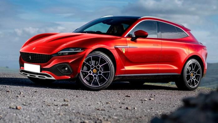 Nuova Ferrari Purosangue 2022, Anticipazioni e Rendering del SUV