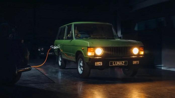 Range Rover elettrico, il Classico rinasce Lunaz