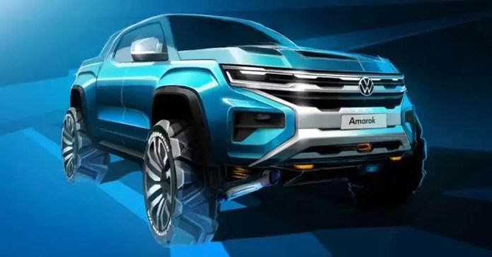 Nuovo Volkswagen Amarok 2022, non sarà una copia del Ford Ranger