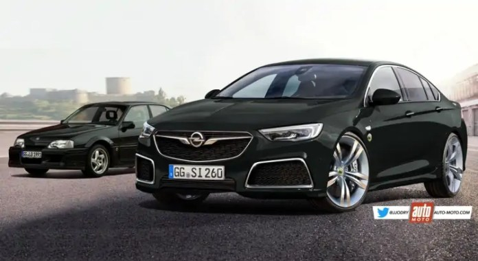 Opel Insigna Lotus 2022, il rendering omaggia la Omega