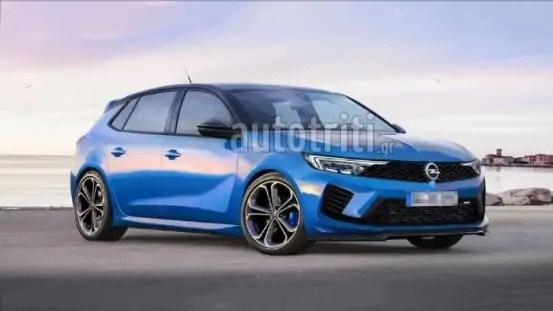Nuova Opel Astra 2022, il Rendering della ibrida OPC