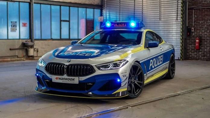 BMW Serie 8 AC SCHNITZER, 630 CV per la Polizei