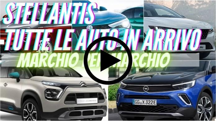 Tutte le novità STELLANTIS in ARRIVO | marchio per marchio [VIDEO]