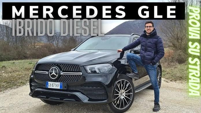 Mercedes-Benz GLEde 320CV Video Prova su strada