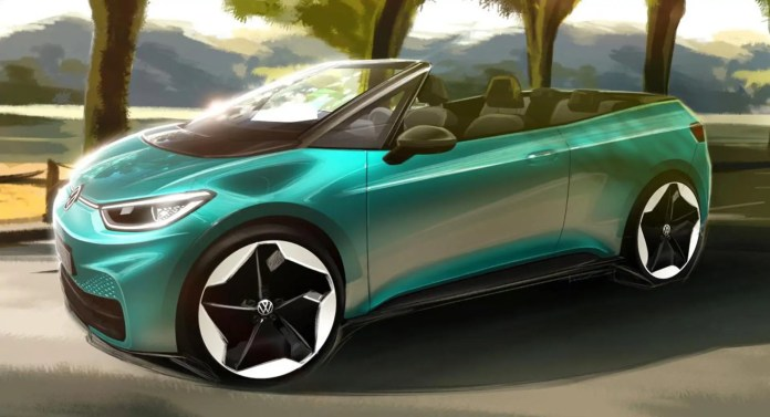 Nuova Volkswagen ID.3 arriva la versione cabrio!