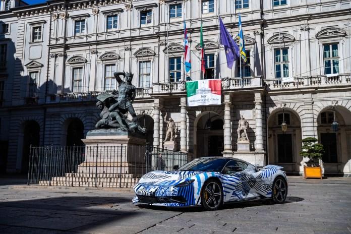 Automobili Pininfarina: la Battista nei test su strada