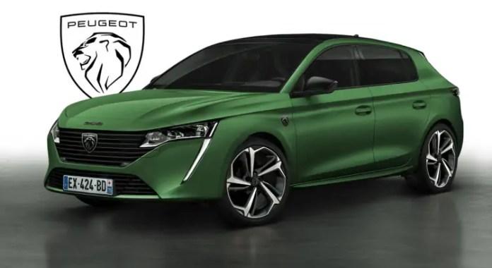 Nuova Peugeot 308 PSE 2022, Rendering della sportiva ibrida