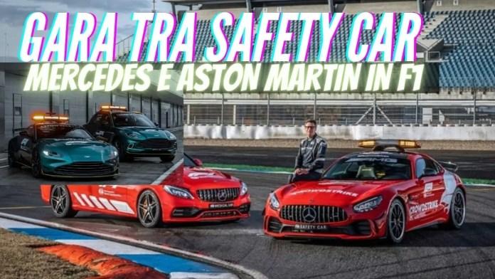 Mercedes-Benz e Aston Martin le nuove SAFETY CAR per la Formula 1 [VIDEO]