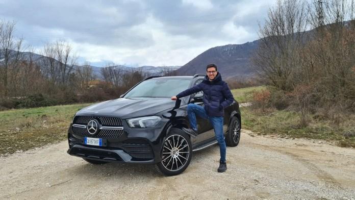 Mercedes-Benz GLE 350de 320 CV di ibrido Diesel, Prova su strada