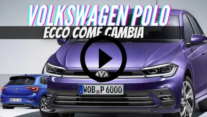 Nuova Volkswagen Polo 2021  Restyling, Dati Tecnici e Info [VIDEO]