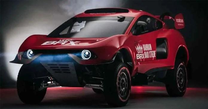 Prodrive arriva la versione stradale dalla Dakar