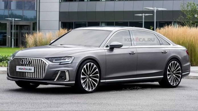 Nuova Audi A8 Horch 2022, il ritorno del mito sfida Maybach