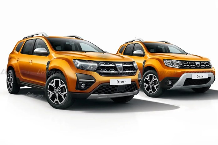Nuova Dacia Duster 2022, il Restyling in Anteprima Rendering