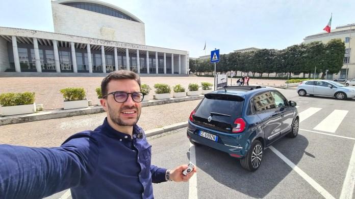 Renault Twingo ZE 82 CV, Prova su Strada