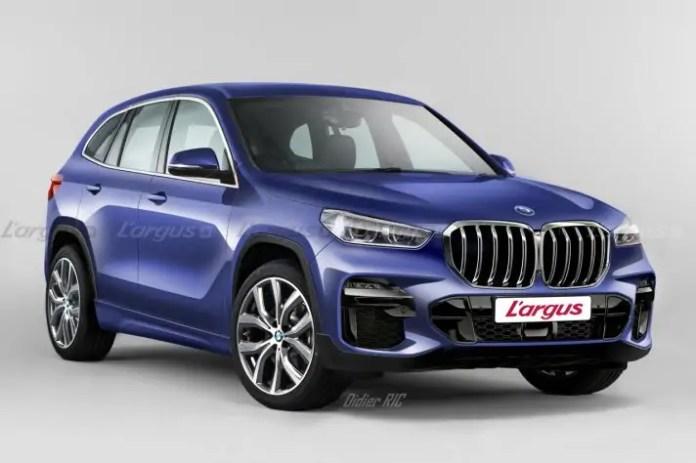 Nuova BMW X1 2022, la terza generazione in Rendering