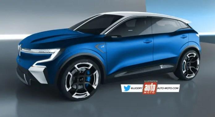 Nuova Renault Megane Alpine 2023, svolta elettrica in Rendering