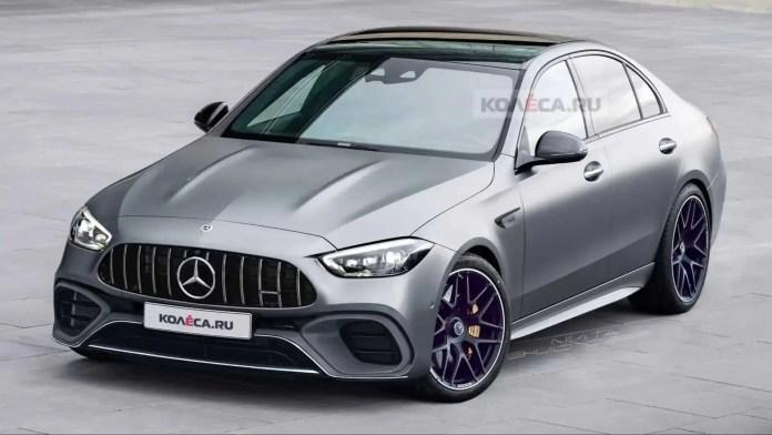 Nuova Mercedes-Benz Classe C AMG 2022, Rendering e Dati in Anteprima