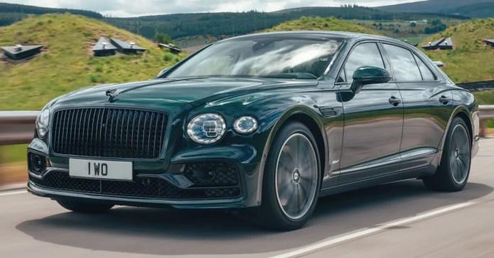 Nuova Bentley Flying Spur Hybrid 2022, Dati tecnici e foto