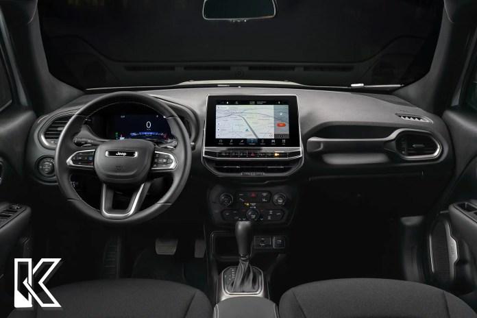 Nuova Jeep Renegade 2022, il Restyling nei Rendering