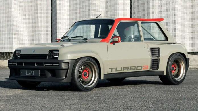 Nuova Renault 5 Turbo 2022, il Rendering dal Futuro
