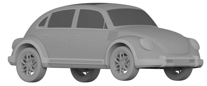 Great Wall sfida VW e crea un clone elettrico del Maggiolino