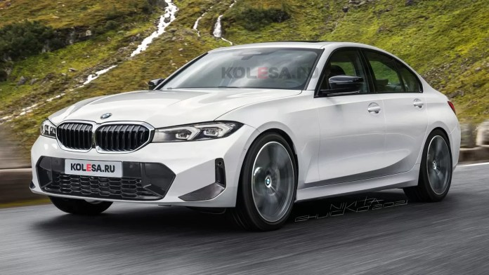 Nuova BMW Serie 3 2022, il Restyling nei Rendering