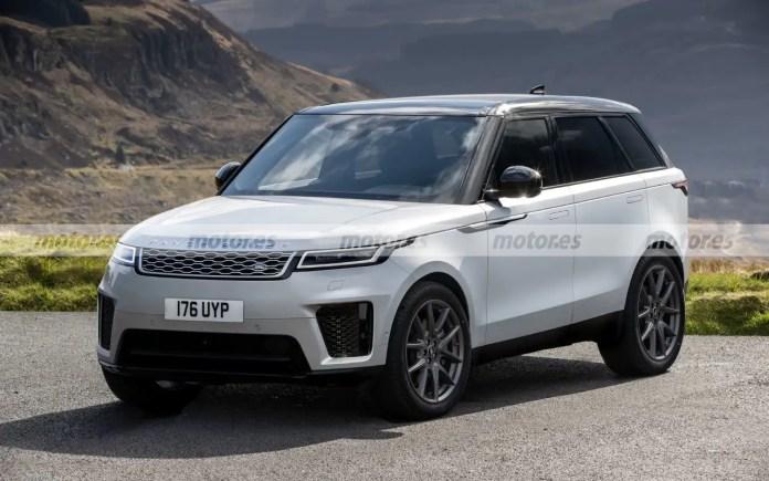 Nuova Range Rover Sport 2022, il Rendering della novità