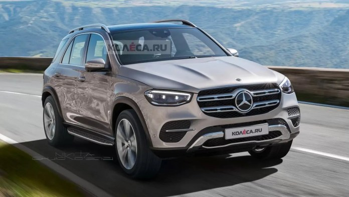 Nuova Mercedes-Benz GL2 2022, il Restyling nel rendering