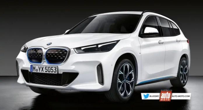 Nuova BMW X1 2022, Rendering e Anteprima