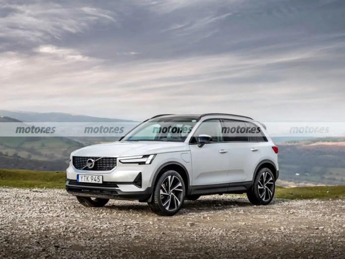 Nuova Volvo XC90 2022, il Rendering in Anteprima