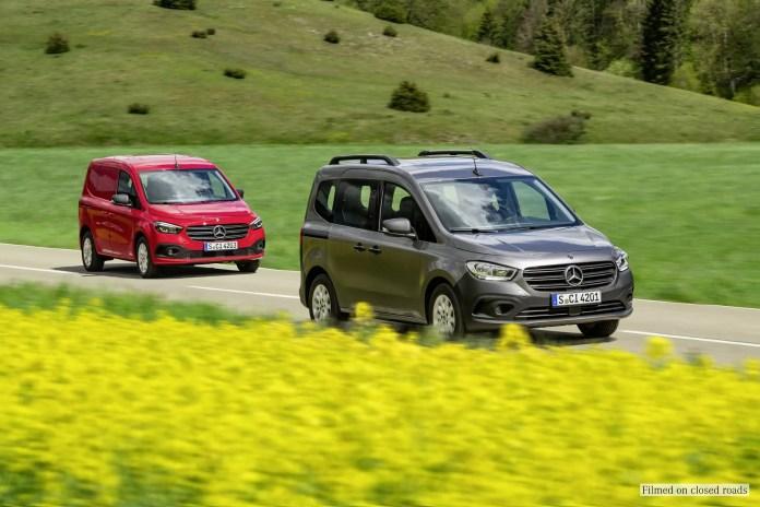 Nuovo Mercedes-Benz Citan 2022, non chiamatelo Renault Kangoo