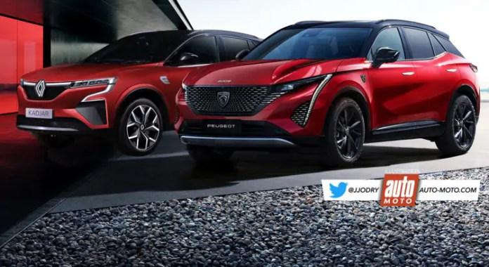 Nuova Renault Kadjar VS nuova Peugeot 3008 2022, sfida SUV
