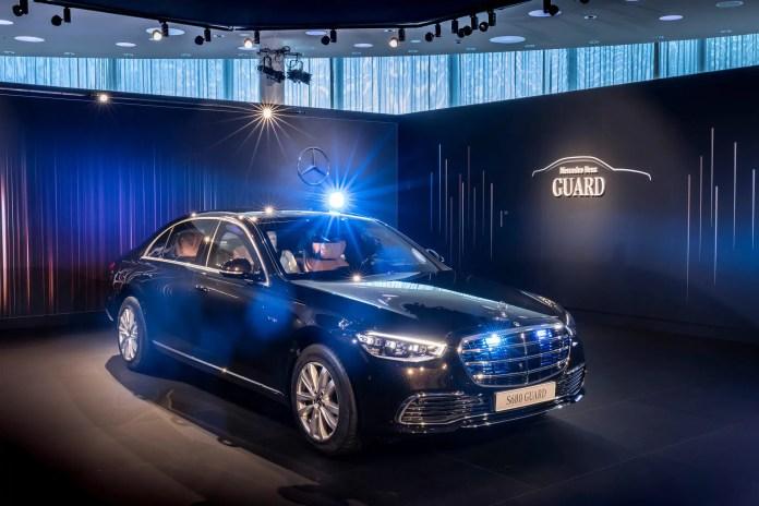 Nuova Mercedes-Benz S 680 Guard 4MATIC 2022, dati tecnici