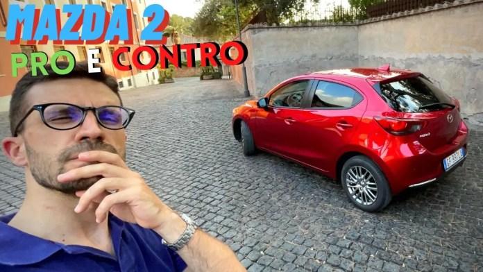 Mazda 2 1.5 90 CV Exclusive | PRO & CONTRO dalla prova [VIDEO]