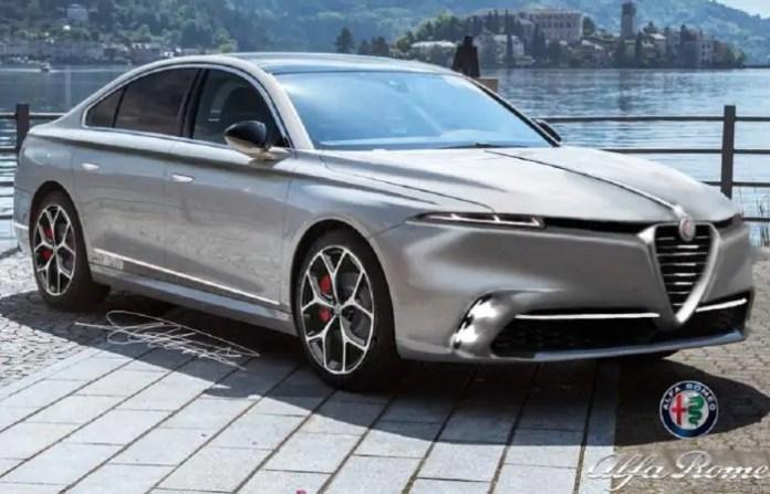 Nuova Alfa Romeo 6C 2023, il Rendering della nuova 166