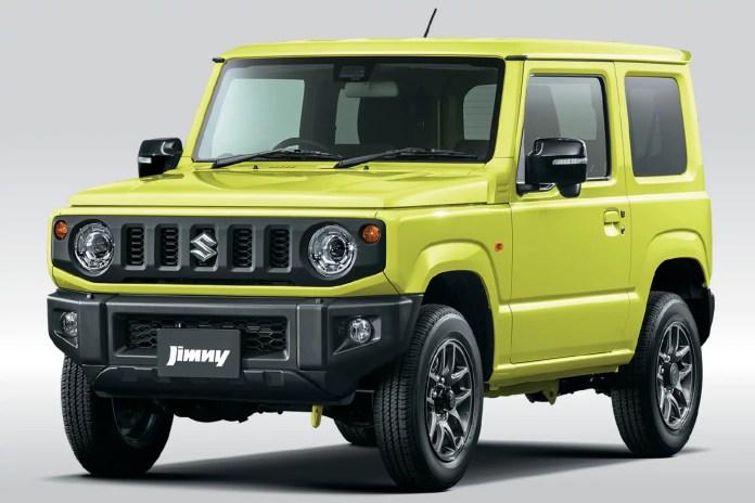 Suzuki Jimny: in Giappone arrivano aggiornamenti