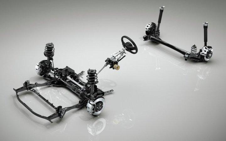 Mazda3 new podveska