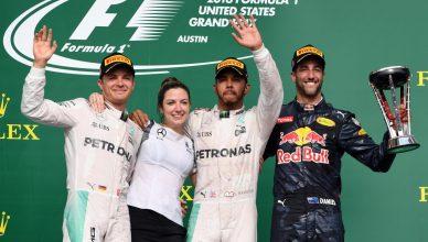 Formula 1 GP USA GP 2016