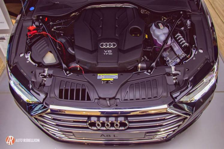 Progress Motors Imports Limited Audi A8L Engine Bay Auto Rebellion Feature